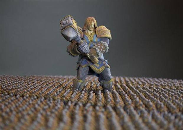 3D printed game character