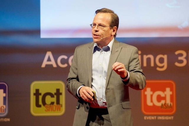 TCT stalwart Todd Grimm gives his main stage keynote presentation. .jpg