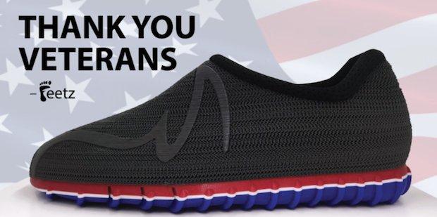 Feetz Veteran's Day special offer