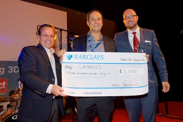 Laykanics receive TCT Start Up Award