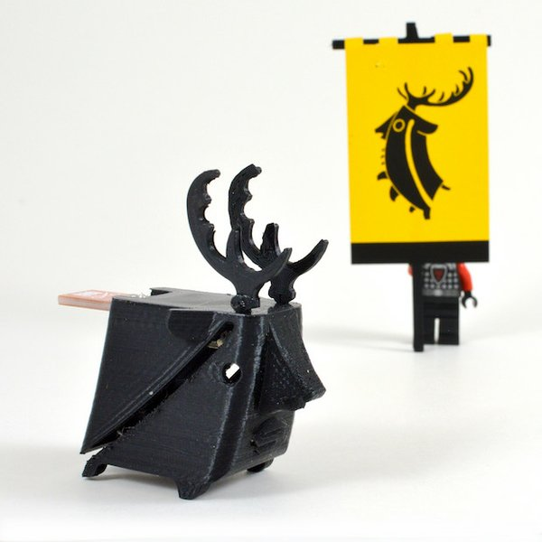 Stag Game of Thones sigil