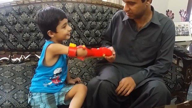 Bioniks 3D printed superhero arm