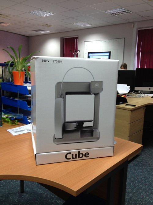 Cube: as it arrived