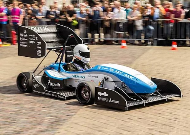 DUT16 race car TU Delft