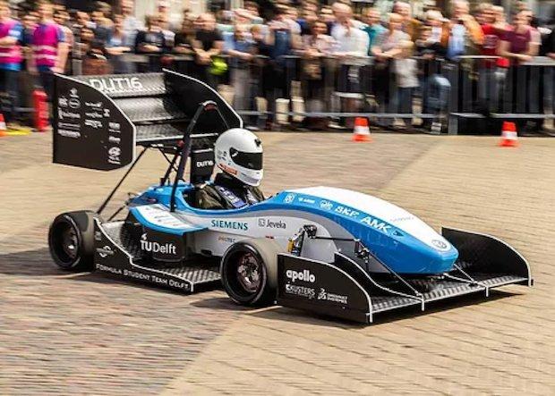 DUT16 race car TU Delft