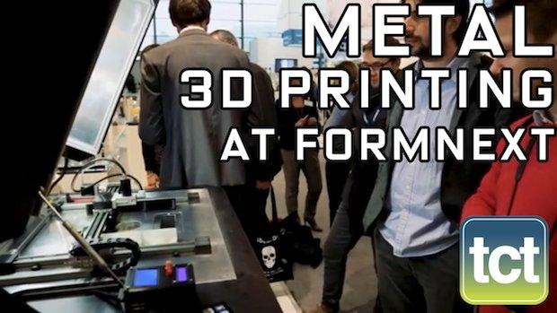 5 new metal 3D printing technologies at formnext