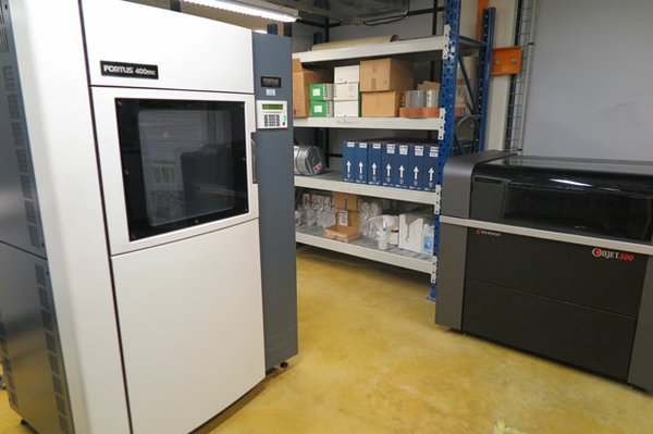Schneider Electric's 3D printing facility