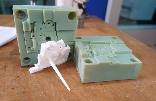 3D printed injection mould