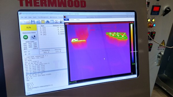 Thermwood thermal imaging