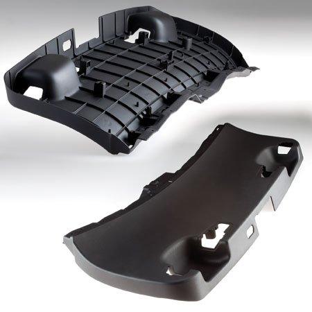 Tailgate liner – RIM cast in shock resistant resin.