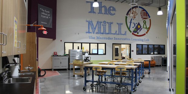 Mount Olive High School MiLL lab