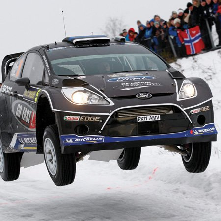 RIM castings supplied to the M-Sport Ford World Rally Team – including sill panels, rear quarter panel protectors and front bib spoilers.
