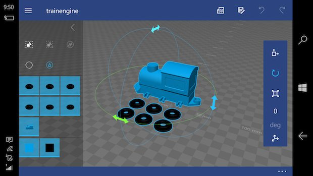 Microsoft 3D Builder app made available on Windows 10