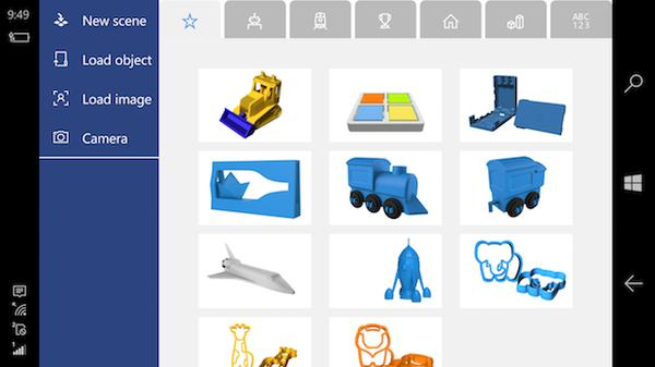 3D Builder app 3