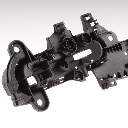 Car component prototype – vacuum cast in P.U. resin.