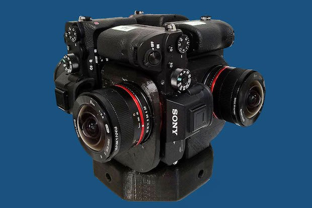 Sony a7S II cameras on Sumo360 rig