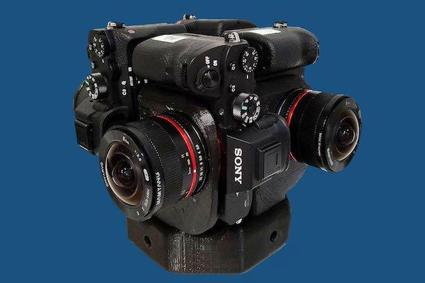 Sony a7S II cameras on Sumo360 rig