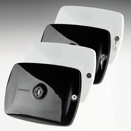 "Bouncepad"" – ipad lockable tablet displays, produced using the vacuum casting process."