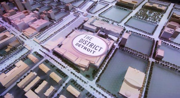 Detroit stadium regeneration