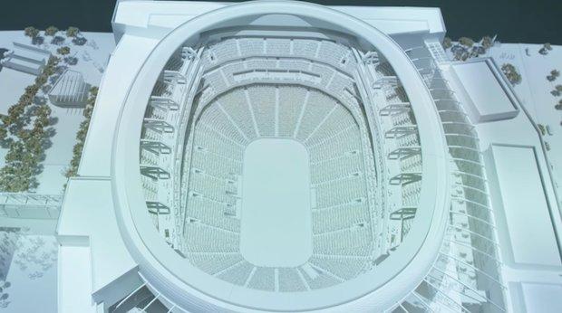 Detroit Stadium regen 3
