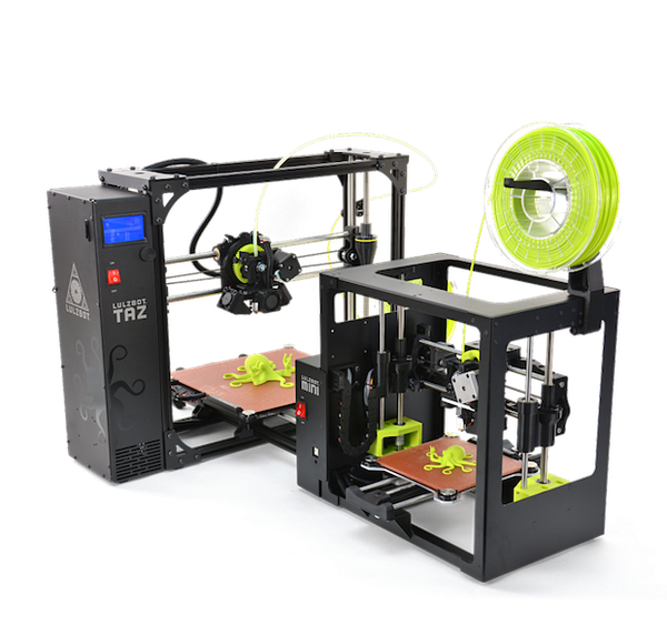 LulzBot desktop printer