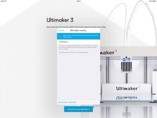 Ultimaker 3 App