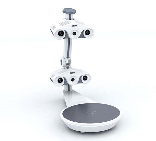 Desktop Scanner Shengzhen Esun 3D+