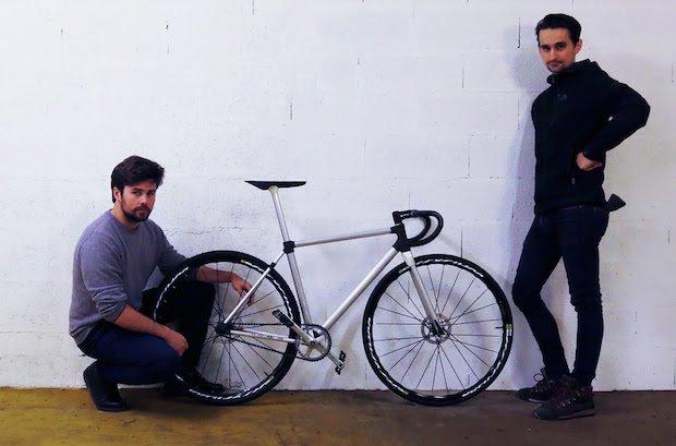 Sculpteo bike CES 2017