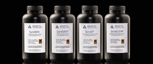 Ackuretta Technologies Qura resins