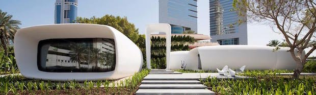Dubai offices 3D-printed 3D Printhuset