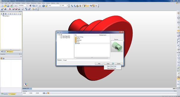Edgecam Files Managed in Autodesk Vault Image