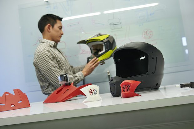 Stratasys_Motorcycle Helmets produced by Ctr for Advanced Design are tested for design validation.jpg