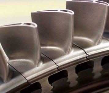 Siemens gas turbine blade