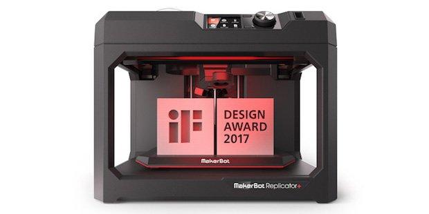 MakerBot Replicator+ iF Design Award