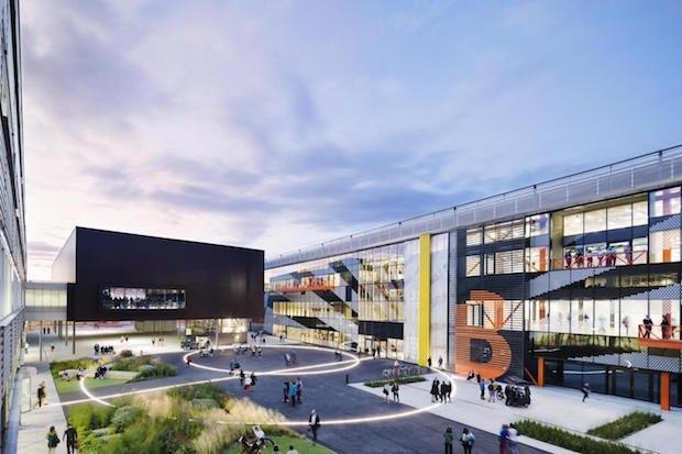 Thames Estuary 3d printing centre Sadiq Khan