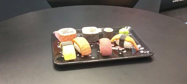 3D Printed Sushi on the Stratasys J750 printer