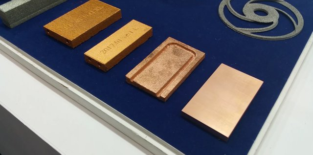 Copper Parts from JEOL machine