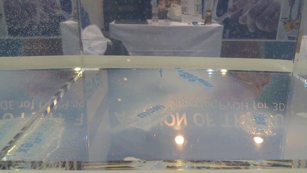 Kuraray water soluble material tokyo 2017