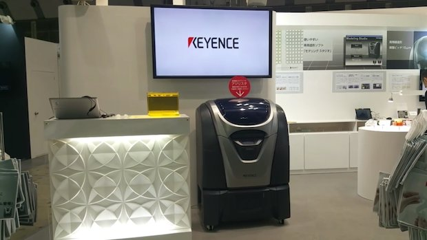 D Printing Exhibition Tokyo : Watch keyence showcases its agilista d printer at