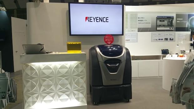 D Printing Exhibition Tokyo : Watch keyence showcases its agilista d printer at