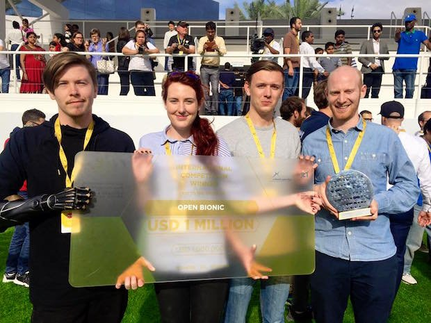 Open Bionics $1m award