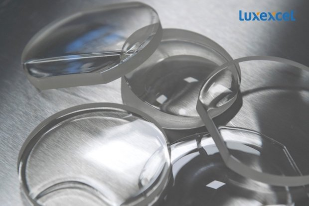 Luxexcel 3D printed ophthalmic lenses