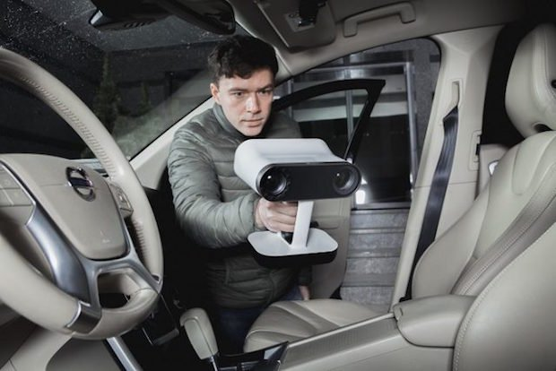 Artec Leo 3D scanner