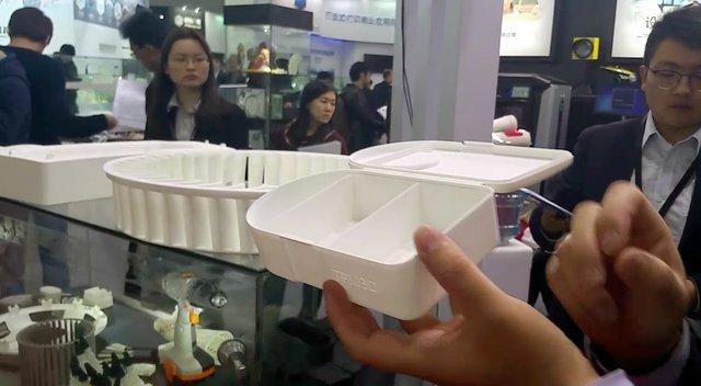 TPM3D SLS parts on show at TCT Asia