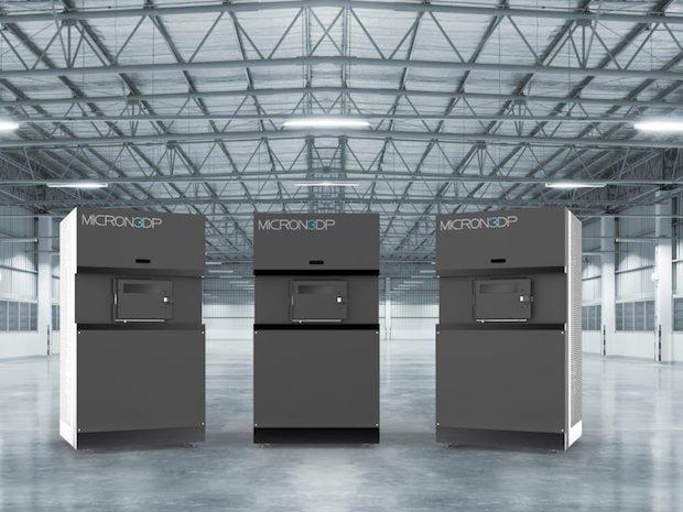 Micron3DP glass 3D printers