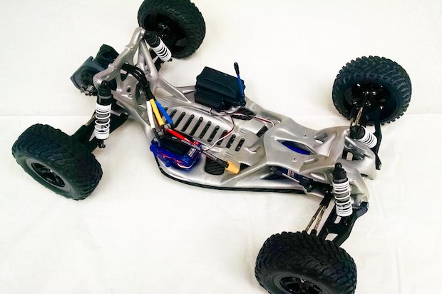 Concept Laser GoEngineer race car chassis