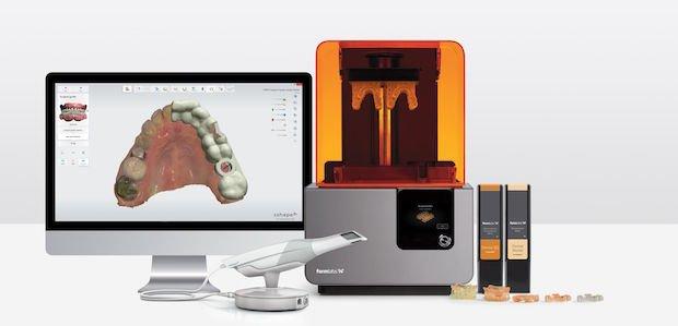 Formlabs dental software and resins