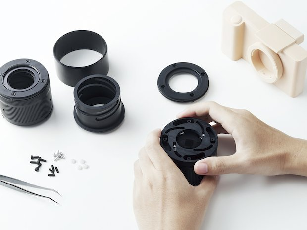 Roland DG MDX-50_sample camera assembly