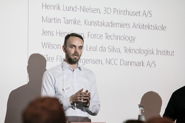 Scandinavia 3D construction printing conference